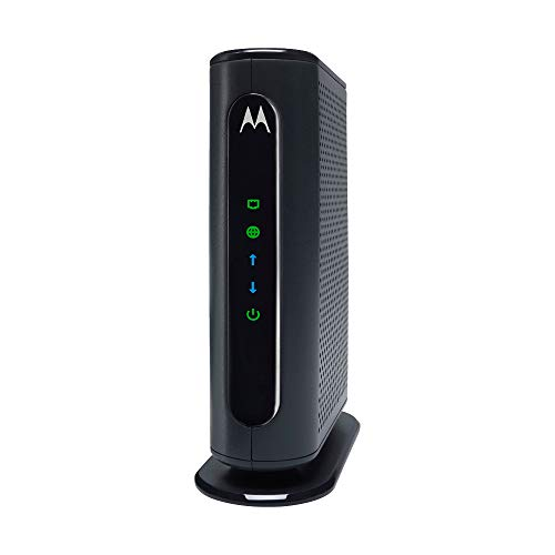 MOTOROLA 16x4 Cable Modem, Model MB7420, 686 Mbps DOCSIS 3.0, Certified by Comcast XFINITY, Charter Spectrum, Time Warner Cable, Cox, BrightHouse, and...
