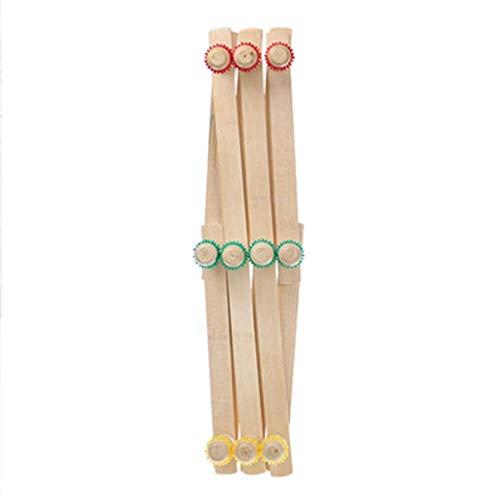 ffshop Perchero de pie Bambú Hecho de telescópico Plegable Llavero Escudo Rack...