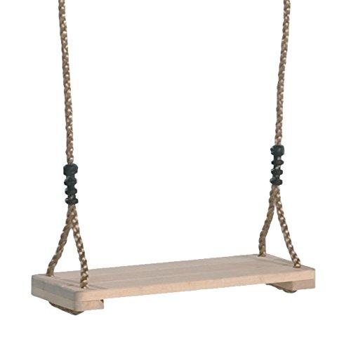 Seggiolino a tavoletta in legno per altalena