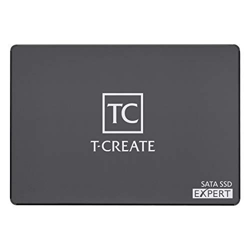 TEAMGROUP T-Create Expert 2 TB 2,5 Zoll SATA III Design für Creators interne SSD (Lese- und Schreibgeschwindigkeit bis zu 560/520 MB/s), TBW 10.000 TB - T253TE002T3C701