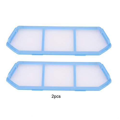 Zerone Filtre à air, remplacement net, 2pcs filtres accessoires adaptés pour ménage aspirateur ILIFE A4 A4S A6