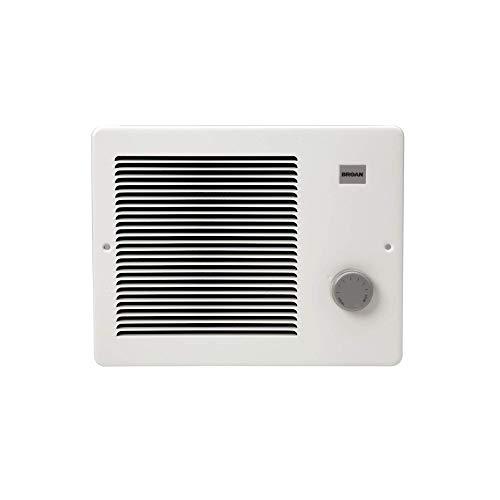 Broan-NuTone 174, White Painted Grille Wall Heater, 750/1500 Watt 120 VAC (Renewed)