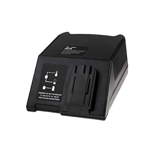 Cargador de batería para Milwaukee Destornillador eléctrico PCS 24V Power Plus