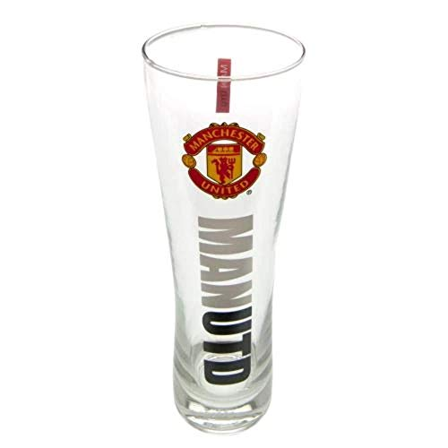 Manchester United Pint-Glas im Peroni-Stil, mehrfarbig