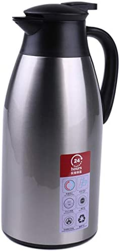 Science Purchase 2-Liter New mail order 304 Stainless Walled Vacuu Double Steel Choice