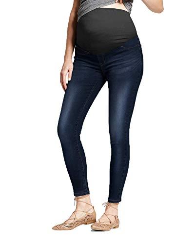 Hybrid & Company Super Comfy Stretch Women's Skinny Maternity Jeans PM5826A Darkwash L