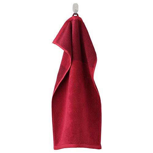 IKEA ASIA Himlean Handtuch, dunkelrot, meliert, 39,9 x 70,1 cm