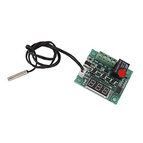 Interruptor de Control de Temperatura del módulo del Sensor Mini W1209 Digital termostato de Control de Temperatura del Interruptor 12v módulo de Sensor
