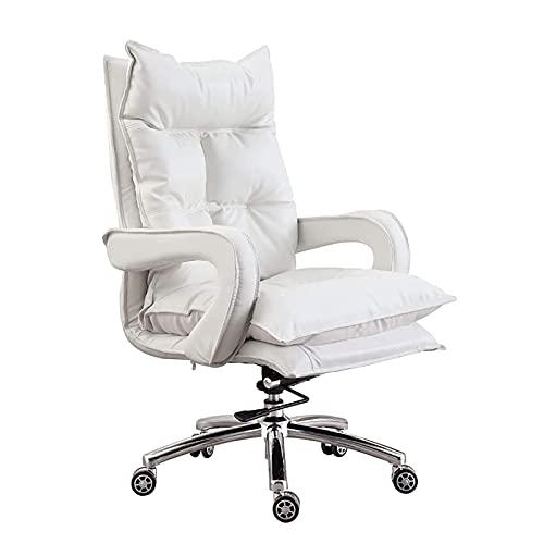 ZXNRTU Relájese cómodamente seguro Silla de oficina en el hogar, diseño ergonómico de trabajo pesado, silla de oficina de apoyo lumbar, silla de escritorio de computadora, silla ejecutiva cómoda, sill