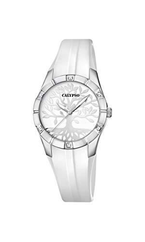 Calypso Reloj Analógico para Mujer de Cuarzo con Correa en plástico K5716/A