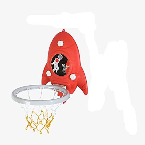 MHCYKJ Mini Canasta Baloncesto Habitacion Juego De Aro para Niños Indoor Tablero Canastas XL Oficina Y Case Blanca Naranja