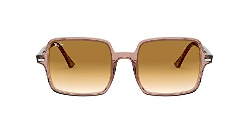 Ray-Ban Unisex Square Ii Rb1973-128151 Sonnenbrille, Brown, 53