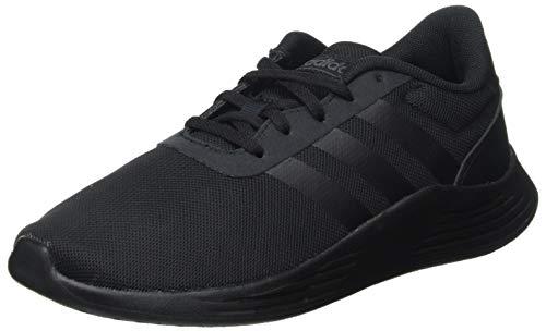 adidas Lite Racer 2.0, Zapatillas Deportivas, Negro (Core Black/Core Black/Grey), 38 EU