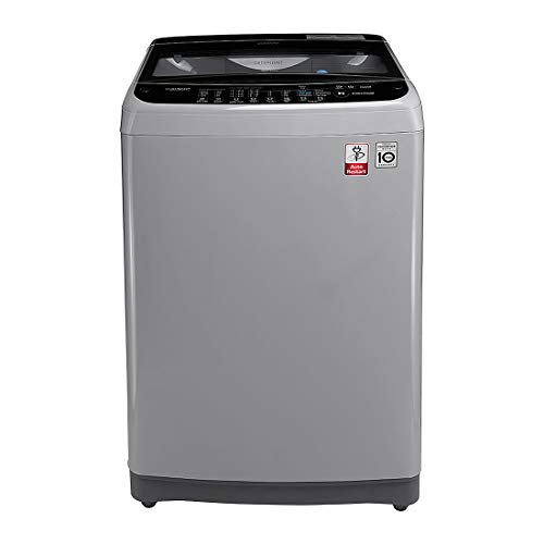 LG 6.5 Kg Inverter Fully-Automatic Top Loading Washing Machine (T7577NDDLJ, Middle Free Silver)