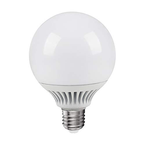 bombilla LED E27Globo 18W 120W Diámetro 95mm luz neutra 4000° K ALCAPOWER...