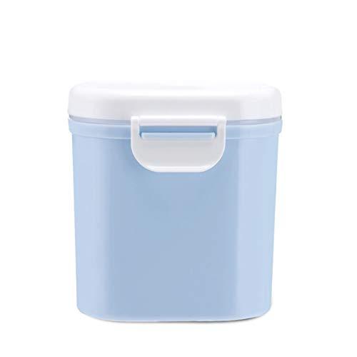 Tragbare Outdoor-Großraum-Baby-Kleinkind-Milchpulver versiegelt Aufbewahrungsbox Tank Organizer Container erhalten Box (Farbe: Blau) (Größe: L)