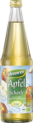 dennree Bio Apfel-Schorle klar (6 x 700 ml)