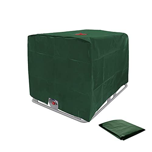 AYYDS Telone di copertura per serbatoio dell'acqua da 1000 l, per contenitore IBC, pellicola protettiva UV, 120 x 100 x 116 cm