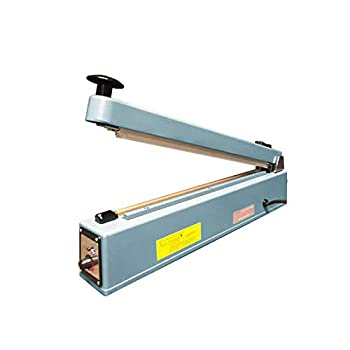 UltraSource 560405 Impulse Manual Hand Sealer with Cutter 16  for Sealing Poly Bags