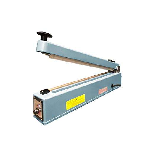 """UltraSource 560405 Impulse Manual Hand Sealer with Cutter, 16"""", for Sealing Poly Bags"""