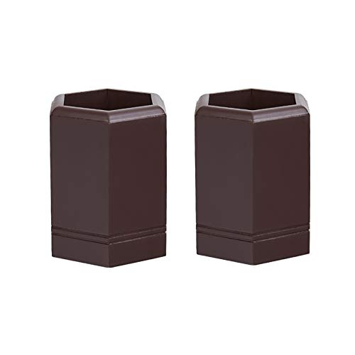Portalápices Moda Creative Desk Plen Pot Multi Propósito Use lápiz Taza de madera Oficina Oficina Organizador Pluma Lápiz Contenedor usado para la escuela de oficina y para el hogar organizador escrit