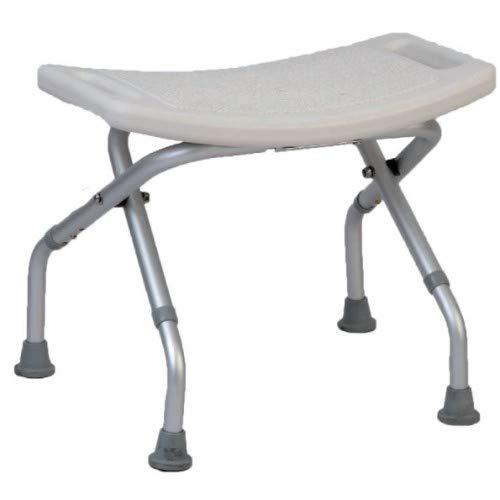 Sedia doccia pieghevole per anziani sgabello antiscivolo regolabile in altezza