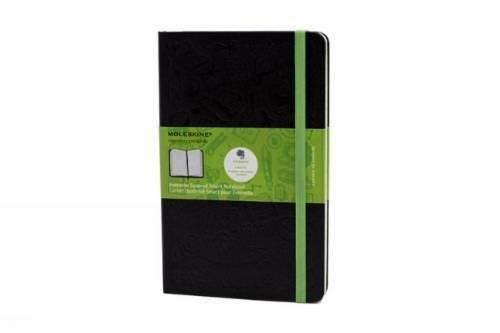 Moleskine Evernote Notizbuch Large, Hardcover, kariert schwarz