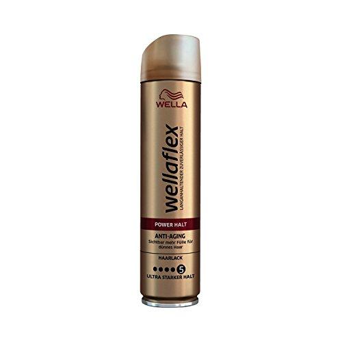 Wella Wellaflex Power Halt Anti-Aging Haarlack Für Dünnes Haar, 6er Pack (6 X 250 Ml)