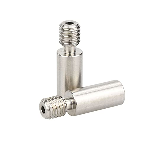 1 Pc Titanium Alloy and Stainless Steel Double Color Mixing Head Nozzle Throat with PTEE Tube Inside for 1.75/3.0mm Filament 3D Printer