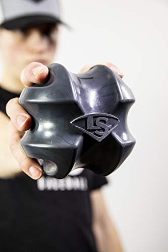 Louisville Slugger Xball Multisport Strength & Flexibility Training Ball, Black