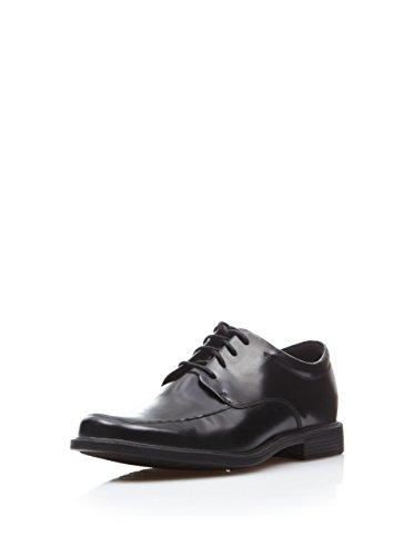 Rockport Men's Evander Moc Toe Oxford-Black-9.5 M