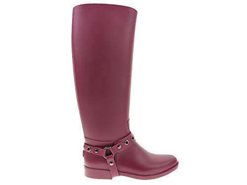Red Valentino Schuhe Stiefel Gummistiefel Schlupfstiefel Violett JQ0S0710, Größe:35