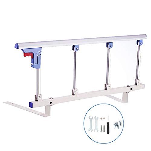 QDY-Bedside Handrails Sicherheitsbettgitter Für Senioren, Erwachsenenhandschienenbett Seitenschienenbettschienen Sicherheitsunterstützungsgriff Mit Einem Schlüsselfalz L7D-323