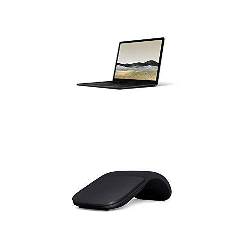 Microsoft Surface Laptop 3, 13,5 Zoll Laptop (Intel Core i5, 8GB RAM, 256GB SSD, Win 10 Home) Matt Schwarz + Arc Mouse Schwarz