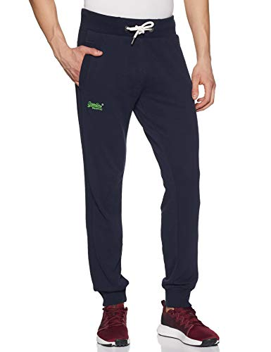 Superdry Orange Label Lite Jogger Heren Joggingbroek royal navy