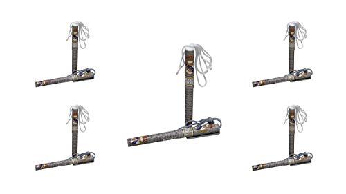 2410; pak 10 Real Madrid-pennen; Officieel product, afmetingen 13x1,5x1 cm