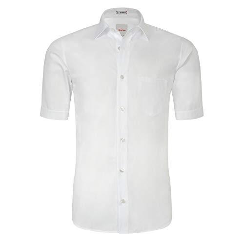Signum - Basic Hemd - aus luftiger Baumwolle - Kurzarm - Modern Fit