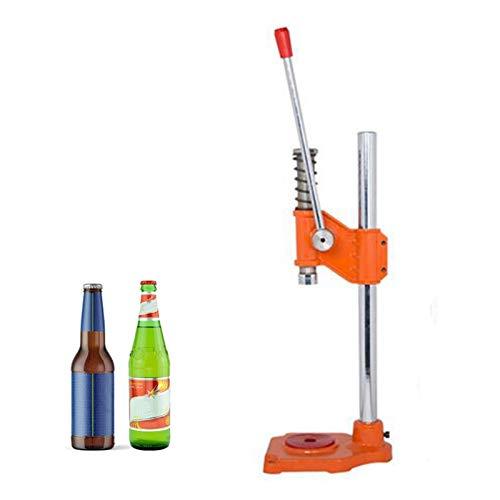 QingH yy Bottle Bottle Capper Máquina de Tapas de tapete de Botella de Botella de Sellado Herramienta de tapón para Bebidas Suaves Cadera Cadera Cadera YPQ-0813