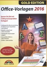 Office Vorlagen 2016 Gold Edition Vollversion, 1 Lizenz Windows vorlagenpaket