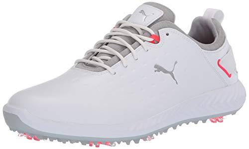 Puma Golf Women's Ignite Blaze Pro Golf Shoe, Puma White-High Rise, 6.5 M US