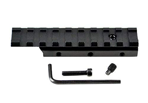 Sniper Rail Mount Adapter, Mount Adjustor, Dovetail Base to Picatinny Base