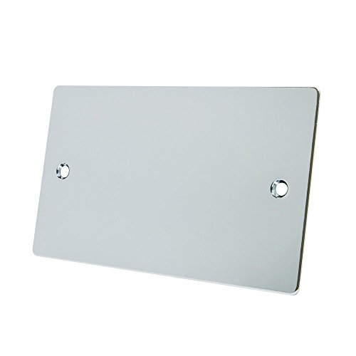 Alliance Electrical FPC2GBP Elektrische blindplaat, 2-voudig, gepolijst chroom