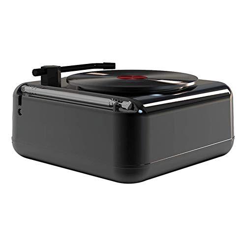 LKNJLL Reproductor de grabación Turnato de giradiscos Reproductor de grabación de vinilo con altavoces TurnTables para Vinyl Records 3 Cinturón de velocidad Cinturón accionado Vintage Reproductor de g