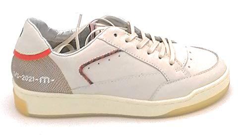 Mjus M96103 sneakers van leer crème-brons U - schoenmaat 38 EU kleur crème brons