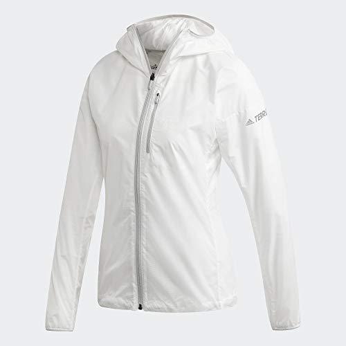 adidas W Agr Windweave Giacca a vento da donna, Donna, giacca, FJ9489, non tintura, M