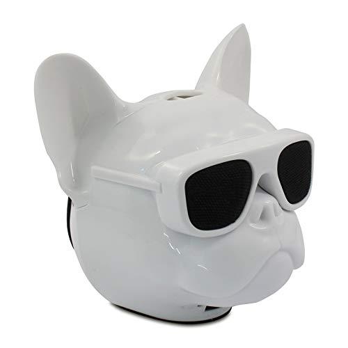 Eaxus® Bluetooth Lautsprecher im Bulldog Design - Wireless Musikbox für Handy, Smartphone & Co