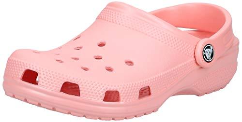 Crocs Classic Clog Zuecos Unisex Adulto Rosa (Melon 737) 36-37
