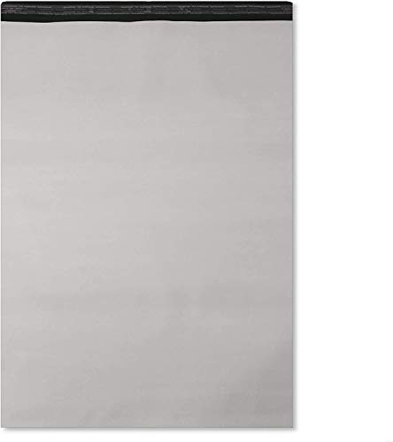 10 enveloppes plastique blanches opaques grand format...