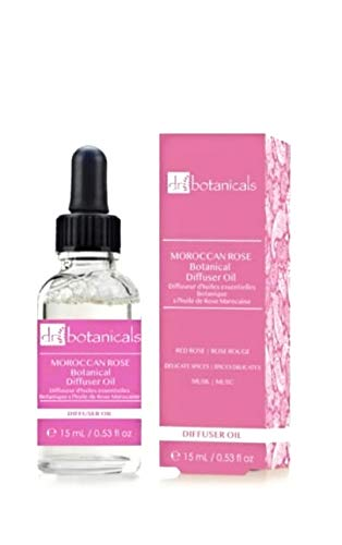 Dr Botanicals Remedies Aromatherapie-ätherische Öle, therapeutisches, natürliches, marokkanisches Rosendiffusor-Öl, 15 ml, (marokkanische Rose)