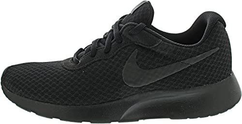 Nike Tanjun, Zapatillas de Running Hombre, Negro (Black/Black/Anthracite 001), 44 EU